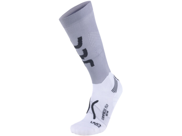 UYN Run Compression Fly Chaussettes Homme, pearl grey/grey